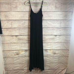 Loveappella long maxi dress black L10